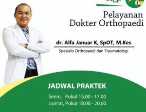 Pelayanan Dokter Orthopaedi