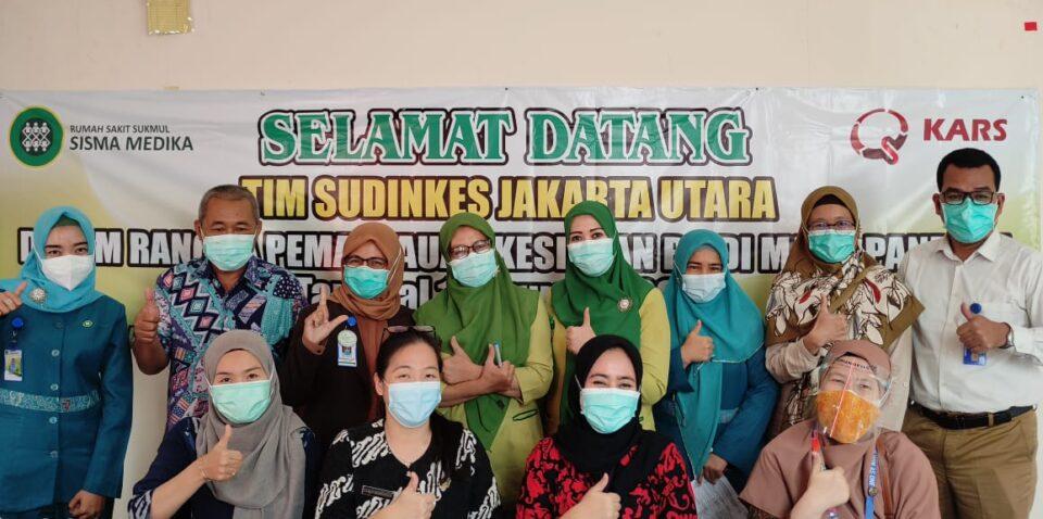 Kunjungan Sudinkes Dalam Rangka Kesiapan RS Di Masa Pandemi