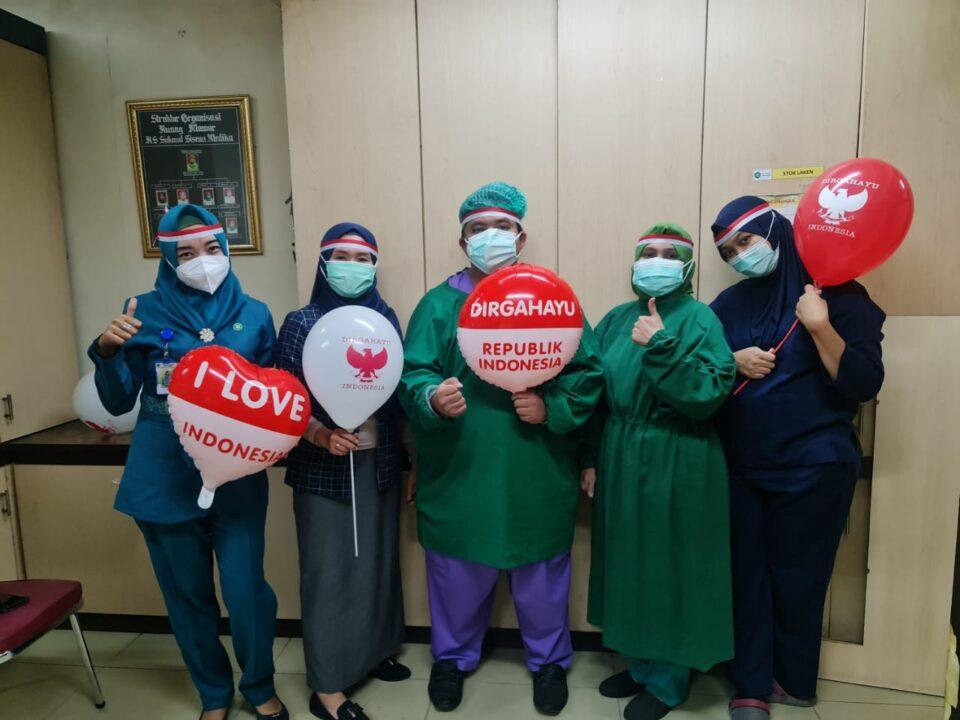 Ucapan Dirgahayu RI dari Nakes, Perwakilan Dokter Spesialis & Staff Mitra Kerja