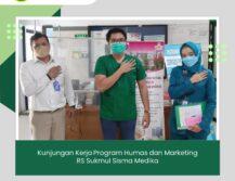 Kunjungan Kerja Program Humas dan Marketing