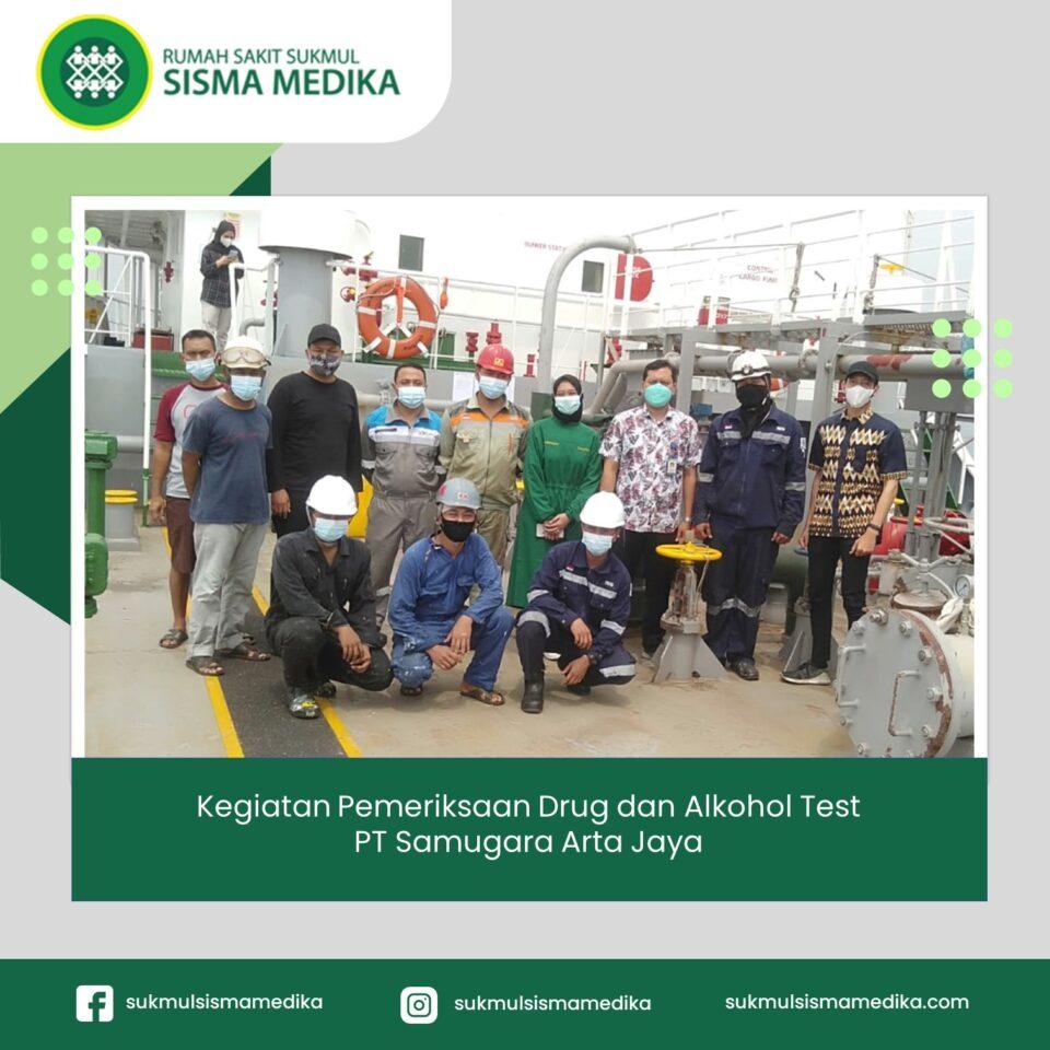 Pemeriksaan Drug dan Alkohol Test PT Samugara Arta Jaya