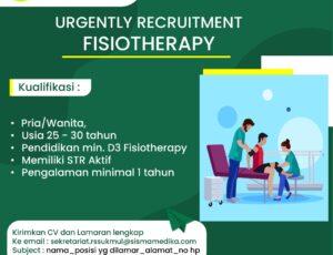 lowongan Pekerjaan Fisiotherapi
